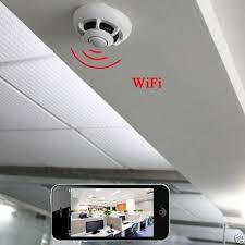 home gadgets 2016 wifi 1080p spy ip camera nanny cam smoke detector hd 90 motion