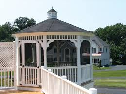 cheap gazebo for sale buy screened in gazebos from the amish lancaster county backyard llc