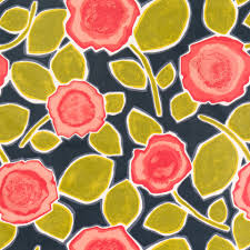 Upholstery Fabric Prints Red Floral Fabric Abstract Yellow Grey Upholstery Fabric