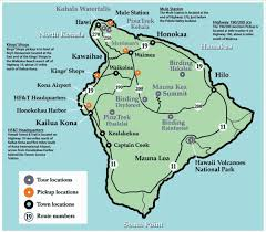 map of hawaii big island big island hawaii tourist map big island hawaii mappery