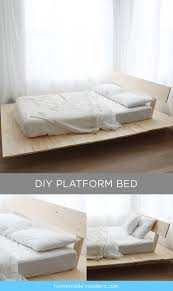 Diy Full Size Platform Bed With Storage Plans by Best 25 Diy Platform Bed Ideas On Pinterest Diy Platform Bed