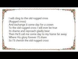 The Old Rugged Cross Lyrics Alan Jackson Johnny Cash Old Rugged Cross Lyrics Youtube