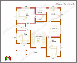 one story open house plans small 3 bedroom house plans square feet plan in kerala single
