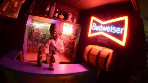 bud light bar light alien bartender bud light bar roswell nm youtube