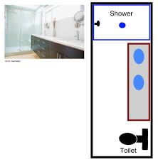 free sample bathroom floor plans small large bathroom plans for long narrow