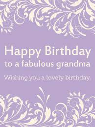 happy birthday cards for grandma happy birthday greeting card for