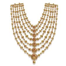 necklace gold jewelry images Handmade bridal gold jewellery designs indian polki jewellery jpg