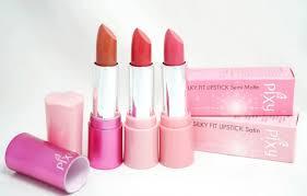 Lipstik Pixy Warna Merah lipstik pixy warna merah racun warna warni swatch scary lipstick