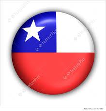 Chile Santiago Flag Illustration Of Chile Flag