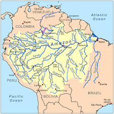 Bogota Colombia Map South America by Casiquiare Canal Wikipedia