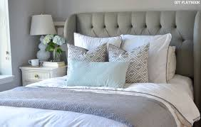 big bed pillows how to arrange euro shams on your bed diy playbook