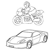 coloriage voiture sport az coloriage