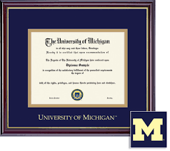 of michigan diploma frame of michigan flint bookstore framing success