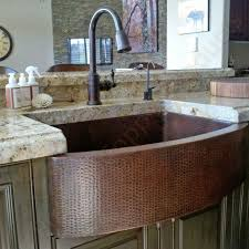 Faucetcom KASRDB In Oil Rubbed Bronze By Premier Copper - Hammered kitchen sink
