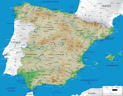 Spain Portugal Map by Portugal Spain Road Map