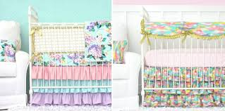 Bright Crib Bedding Bright Pastels In The Nursery Project Nursery
