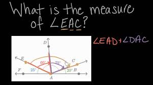 decomposing angles math 4th grade khan academy youtube