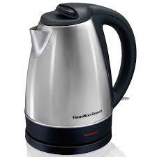 hamilton beach stainless steel electric kettle 1 7 liter 40989