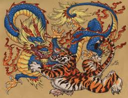 40 best chinese tiger u0026 dragon samples 1 images on pinterest