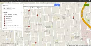 Gppgle Maps Save Money On Your Next Bar Crawl With Yelp And Google Maps