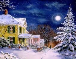 winter happy holidays xmas new year christmas paintings