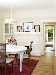 Making A Dining Room Table by 10 Sneaky Ways To Make A Small Space Look Bigger The Everygirl