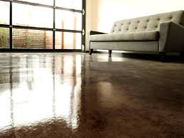 Diy Laminate Flooring On Concrete How To Apply An Acid Stain Look To Concrete Flooring How Tos Diy