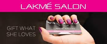 salon gift card lakme salon gift cards