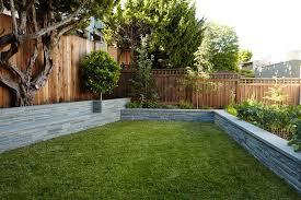 dog run fence landscape modern with contemporary garden fencing