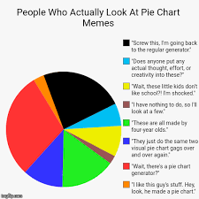 Pie Chart Meme Generator - people who actually look at pie chart memes i like this guy s