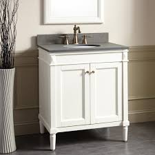 White Freestanding Bathroom Furniture by White Freestanding Vanity Signature Hardware