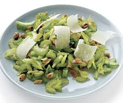 Celery Salad Celery And Marcona Almond Salad Finecooking