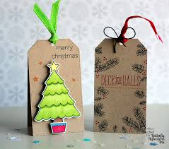 butterfly reflections ink christmas gift card tags