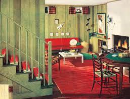 retro home interiors retro style 1950s basement basement retro style