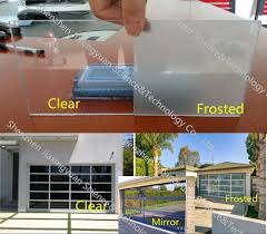Full View Exterior Glass Door by Modern Aluminum Frame Full View Glass Panel Garage Door Prices
