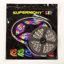 supernight tm 5m 16 4 ft smd 3528 rgb led color changing 300 led
