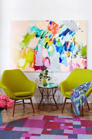 Colorful Interior Fenton And Fenton Art Displayed Pinterest Living Rooms