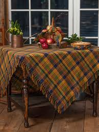 Coffee Table Cloth by Flea Market Plaid Tablecloth Attic Sale Linens U0026 Kitchen Attic
