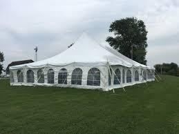 backyard tent wedding reception home outdoor decoration