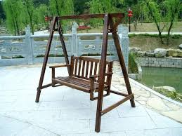 Swing Chairs For Patio Beautiful Patio Furniture Swing Or 2 23 Patio Swing Chair Set
