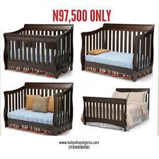 Graco Baby Crib by Graco 4 In 1 Convertible Wooden Crib U2013 Baby Shop Nigeria