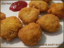 cuisiner reste poulet nuggets de poulet maison gourmands délices