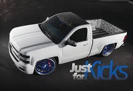 hoonigan truck just for kicks the tire shredding u002715 silverado street trucks