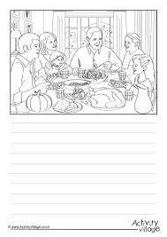 dinner story paper