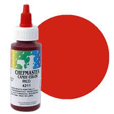 liquid red chefmaster candy color old item 41 3282 cfm 4211