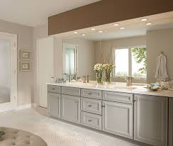 Ensuite Bathroom Furniture Gray Bathroom Cabinets Kemper Cabinetry