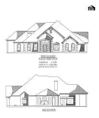 Home Design 1 1 2 Story 100 100 3 Bedroom 2 Floor House Plan 100 3 Bedroom Bungalow