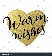 ink calligraphy warm wishes on stock illustration 330472613