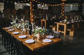 rustic bohemian portland winery wedding emily anton green - Portland Wedding Venues