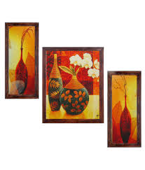 ray decor floral wall painting with frame buy ray decor floral